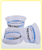 custom printed compostable cold cup_metromint logo_small